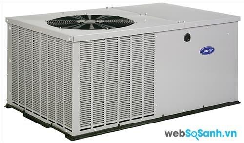 Điều hòa máy lạnh Carrier có bề ngoài khá cồng kềnh