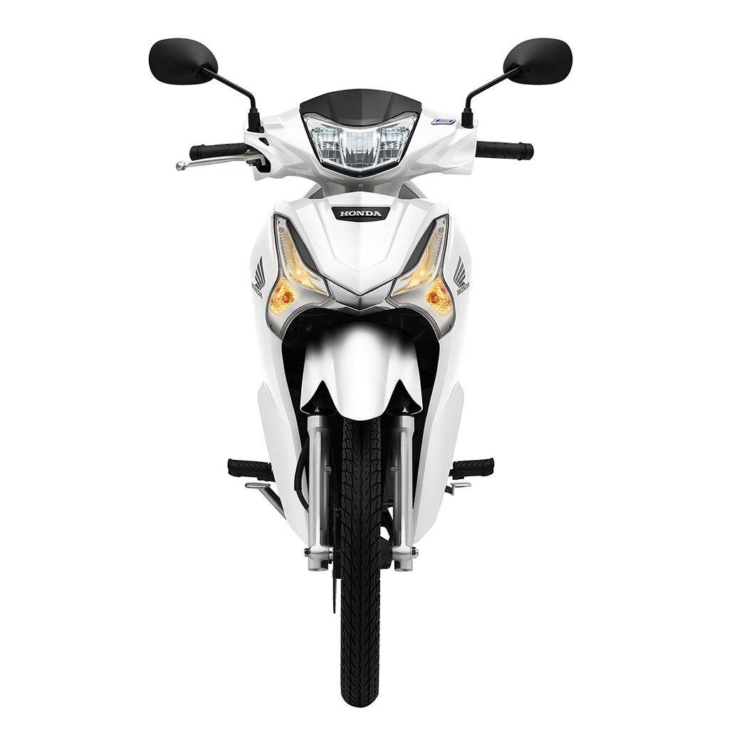 Honda Future màu trắng bạc 2020.