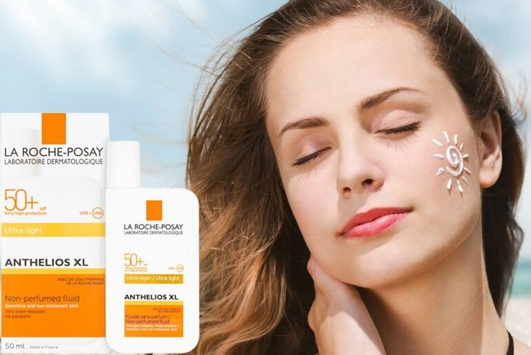 Kem chống nắng Anthelios XL SPF 50+ Tinted Fluid ULTRA-LIGHT
