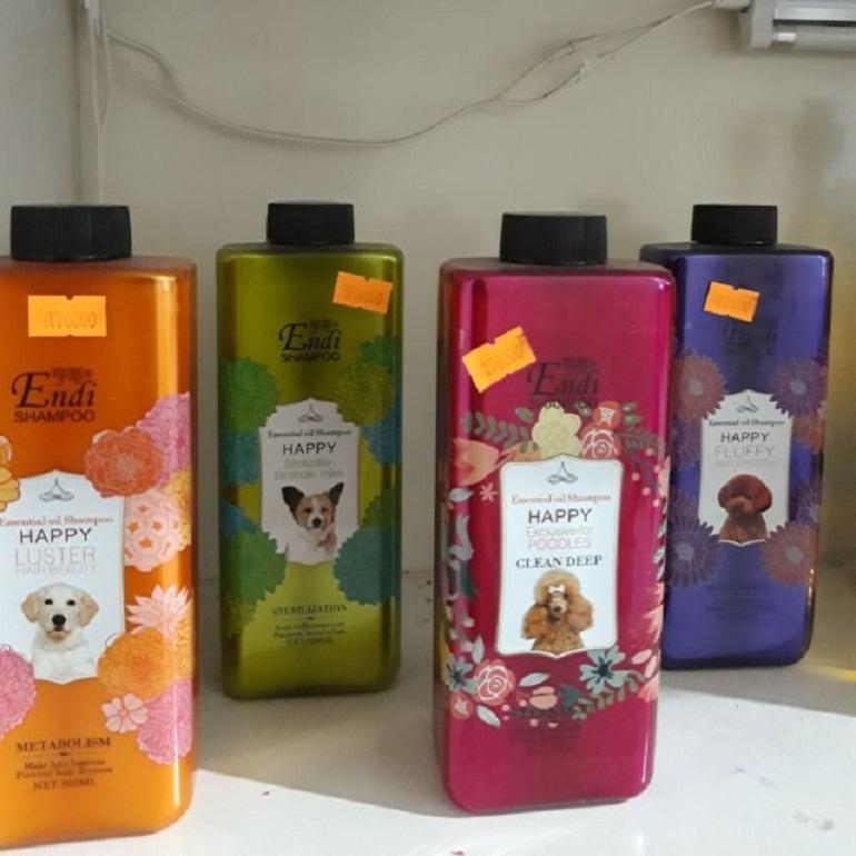Sữa tắm cho chó Poodle nâu - Endi Shampoo