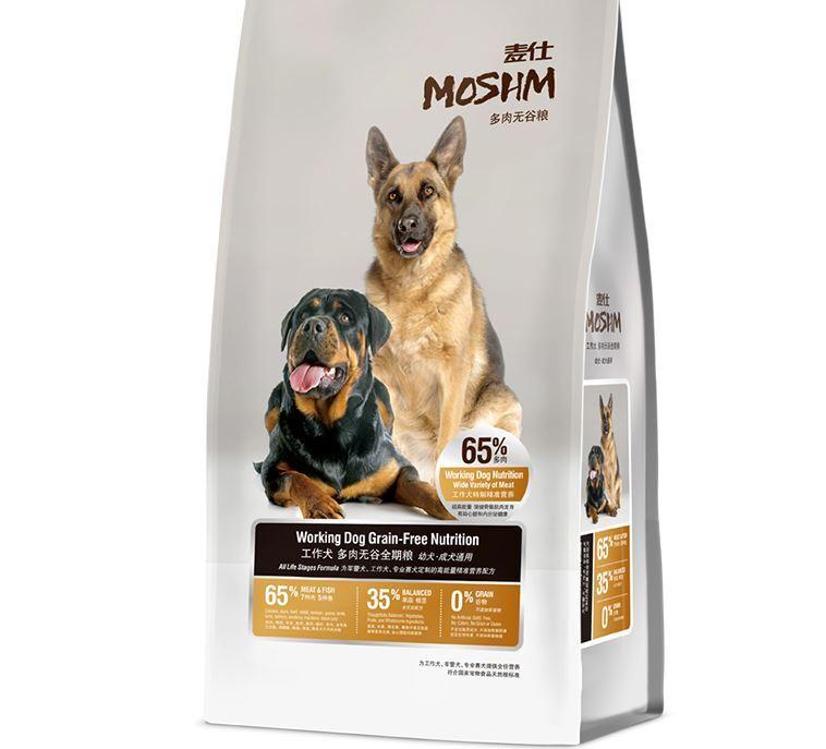 Thức ăn cho chó Moshm Working Dog Grain Free Nutrition