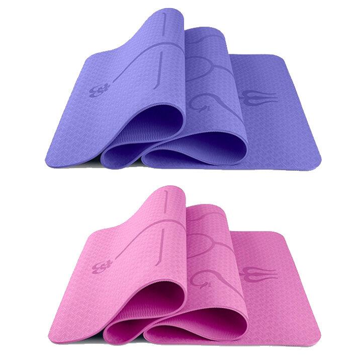 Thảm yoga định tuyến Yoga Link cho bạn cảm giác thoải mái nhất khi tập
