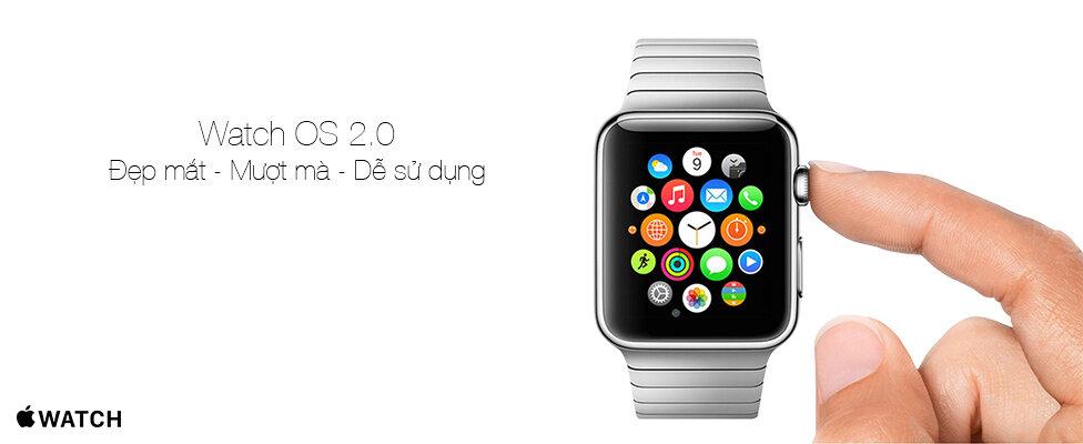 Đồng hồ thông minh Apple Watch watch os 2.0