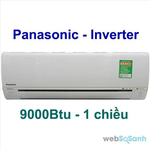 Điều hòa Panasonic 9000btu có thiết kế hiện đại hơn