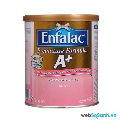 Sữa bột Enfalac Premature Formula A+