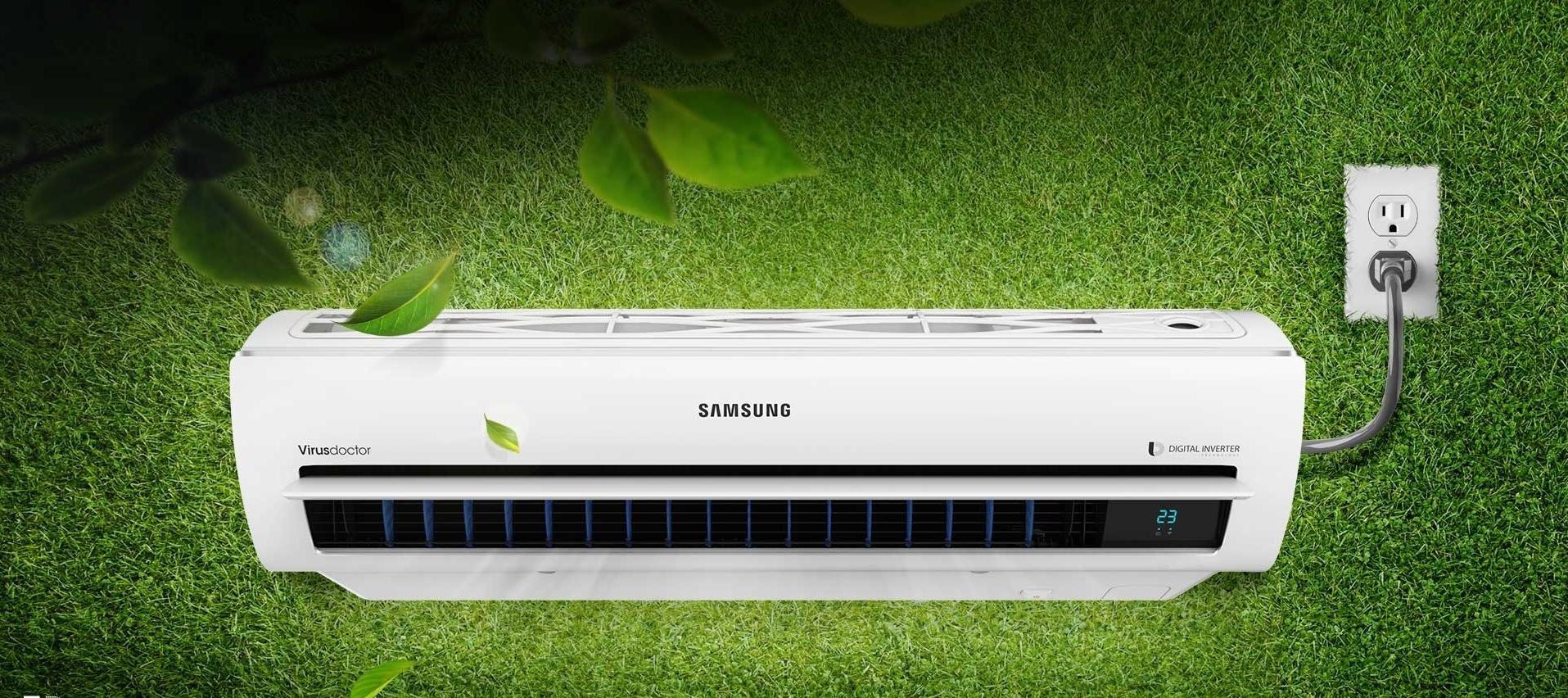 Máy lạnh Inverter của Samsung thân thiện với môi trường