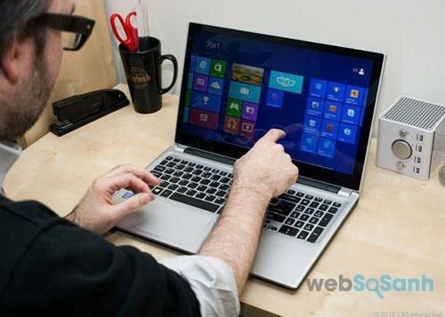Laptop màn hình cảm ứng tiêu chuẩn