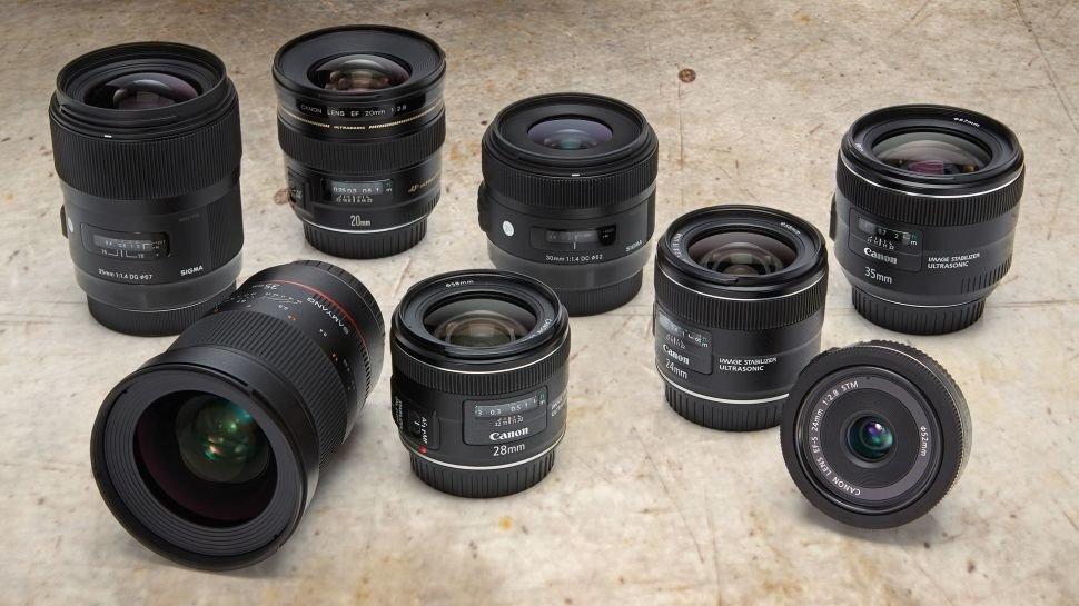 Có rất nhiều loại lens góc rộng khác nhau trên thị trường