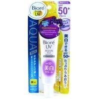 Kem chống nắng dưỡng trắng Biore Aqua Rich Whitening 33g