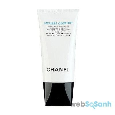Sữa rửa mặt Chanel Mousse Confort Rinse-Off Rich Foaming Cream Cleanser