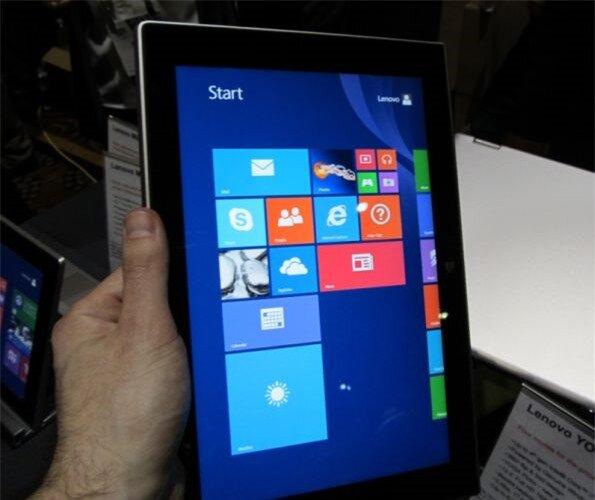 Hình ảnh trên tay Lenovo Miix 2 10 tại CES 2014