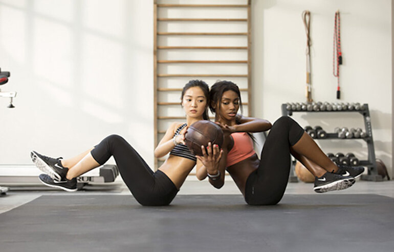 Giày training được dùng chủ yếu trong các bộ môn thể thao ở phòng tập