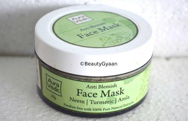 Mặt nạ đất sét Aura Vedic Anti Blemish Face Mask