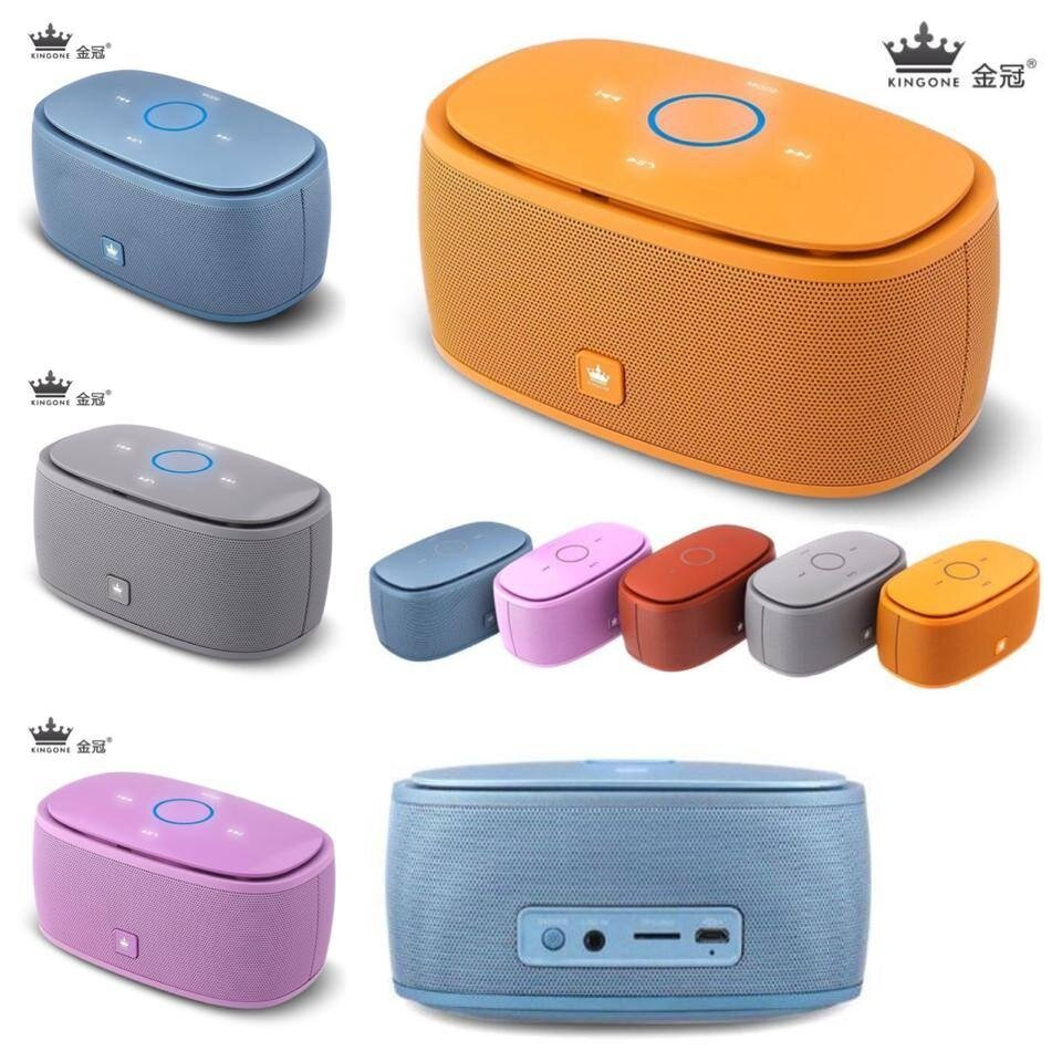 Loa Bluetooth KingOne K5 có kiểu dáng bắt mắt, cùng nhiều màu sắc cho bạn chọn lựa