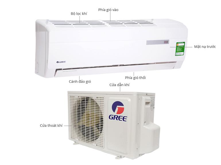 Điều hòa Gree GWBA-09C giá rẻ