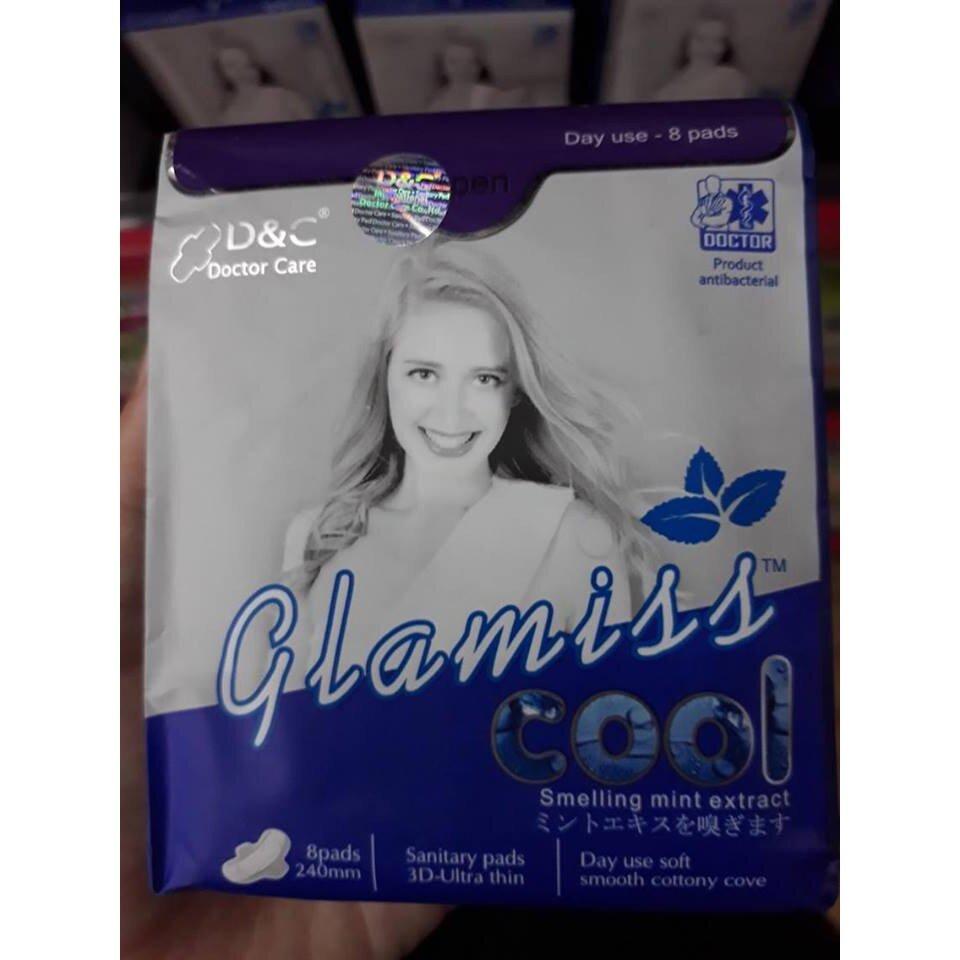 Băng vệ sinh Thảo dược Glamiss Cool