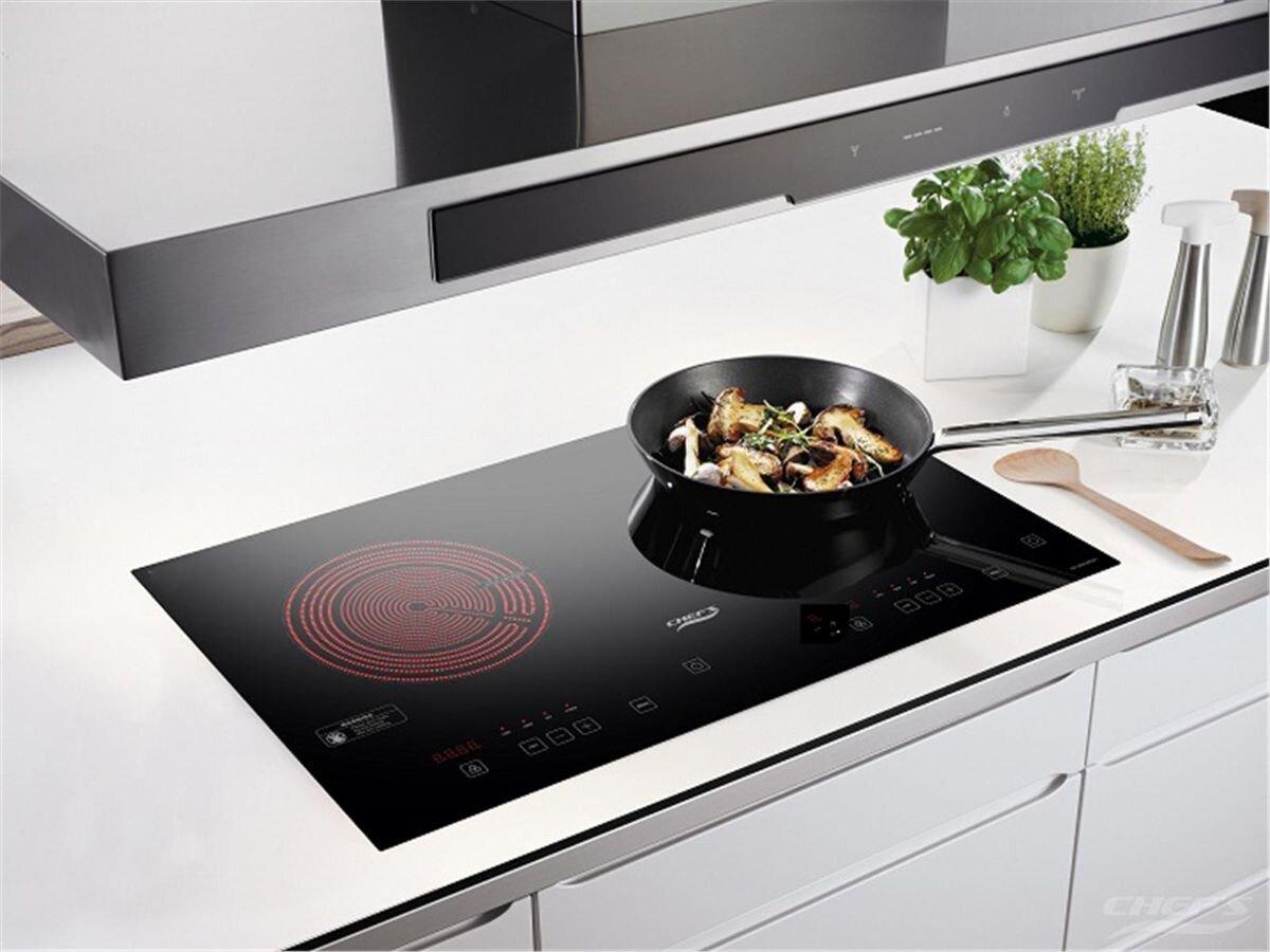 Bếp từ đôi hồng ngoại cảm ứng Chef's EH-MIX2000A