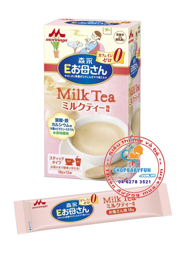 sữa bà bầu Morinaga không chỉ thơm ngon dễ uống mà còn có thành phần dinh dưỡng tốt.