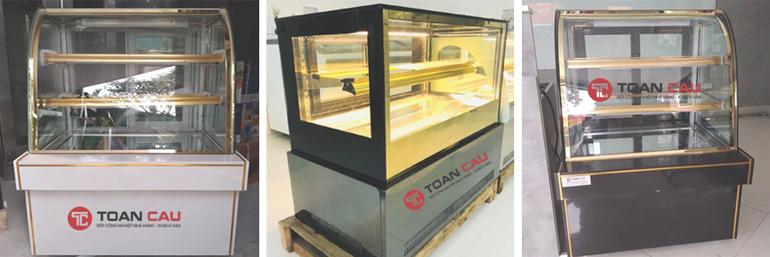 Tủ trưng bày bành kem để bàn