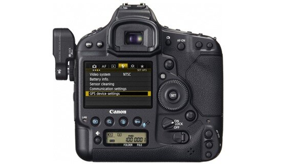 Canon EOS-1D X back view