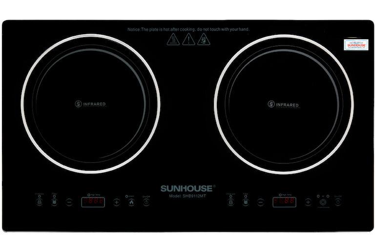 Bếp hồng ngoại đôi Sunhouse SHB9112MT