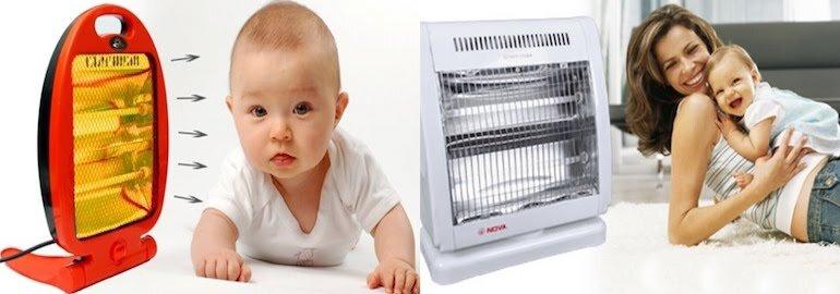 Lựa chọn máy sưởi ấm phòng ngủ cho trẻ sơ sinh theo nhu cầu