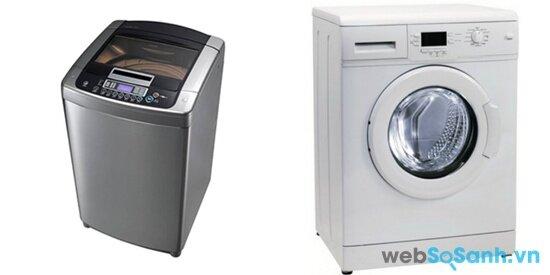 LG WFD1219DD và Electrolux EWF1073 (nguồn: internet)