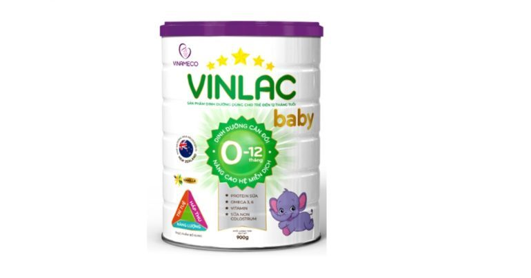 Sữa Vinlac baby có tốt không ? Giá bao nhiêu tiền ? Bán ở đâu ?