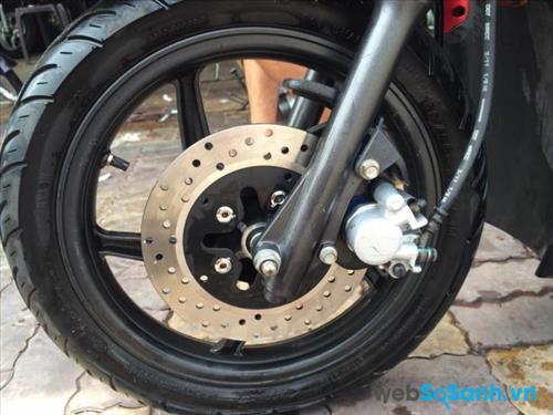 Bánh xe lốp có săm kích thước 14 inch