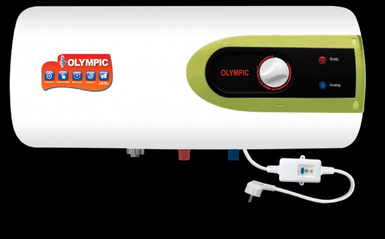 Bình nóng lạnh Olympic làm nóng siêu nhanh