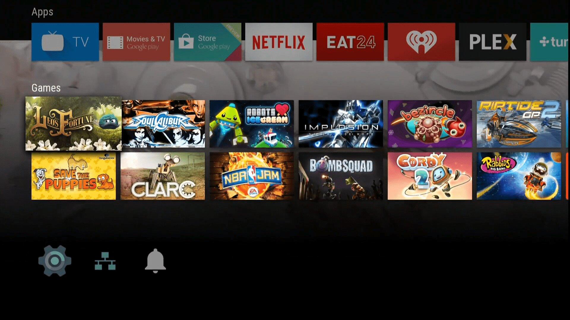 Bạn có thể tùy chọn kích thước màn hình Android TV như ý muốn.
