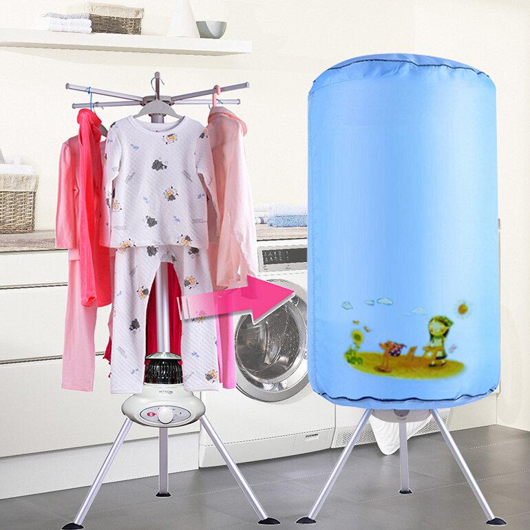 Máy sấy quần áo Nonan MS004 có thiết kế nhỏ gọn