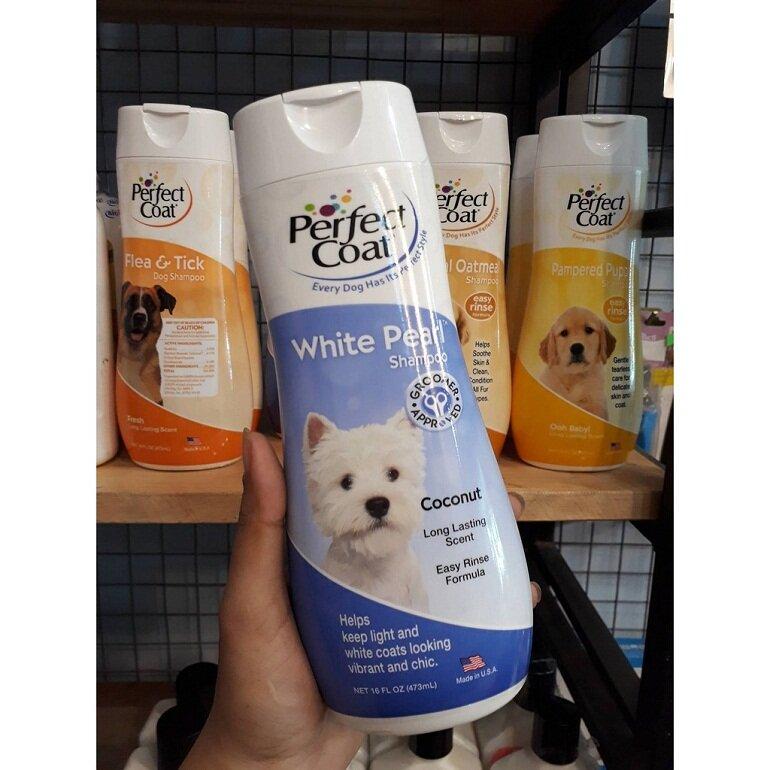 Sữa tắm Perfect Coat dành cho chó lông trắng