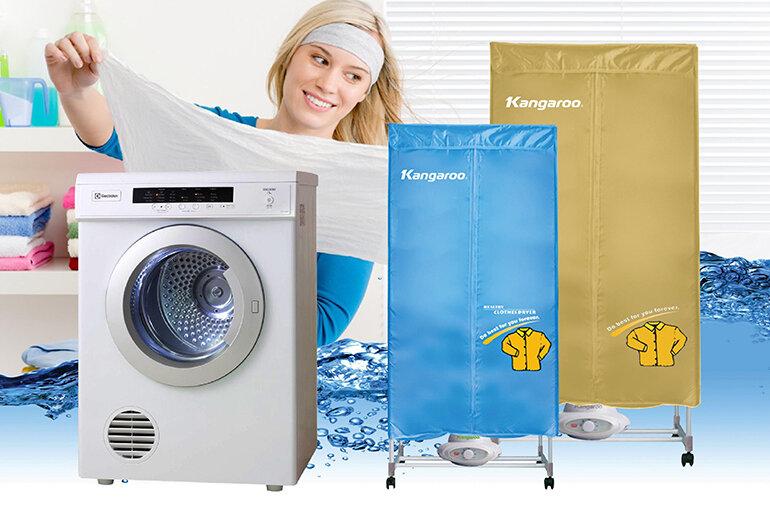 Nên chọn máy sấy hay tủ sấy quần áo thì phù hợp?
