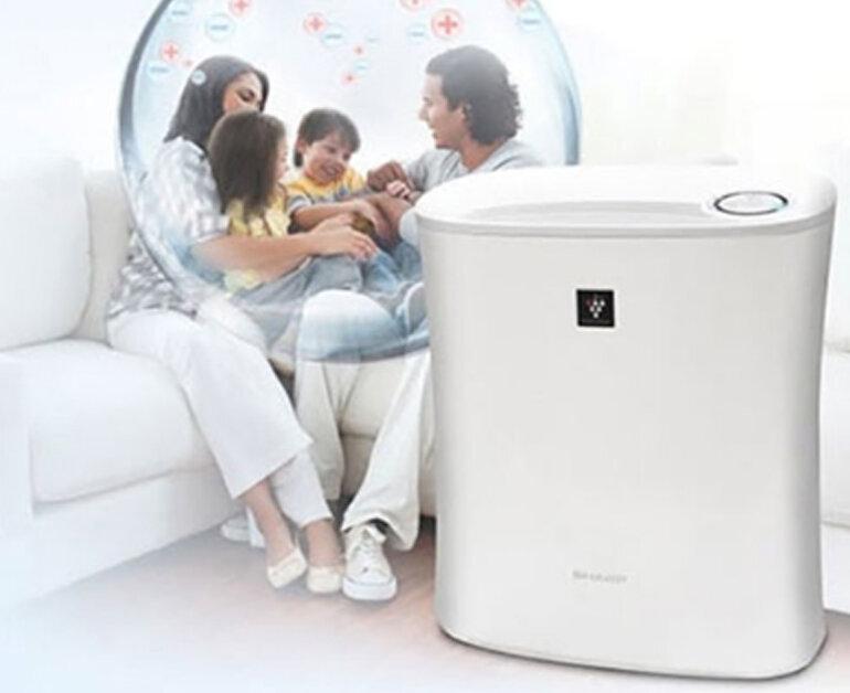 máy lọc không khí gia đình sharp
