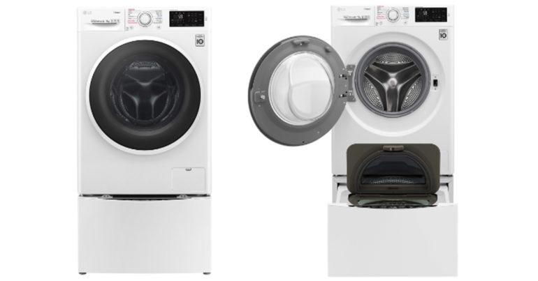 Đánh giá review máy giặt LG Twin Wash Inverter TWC1408D4W 8,5 kg có tốt không ? Mua ở đâu rẻ nhất ?