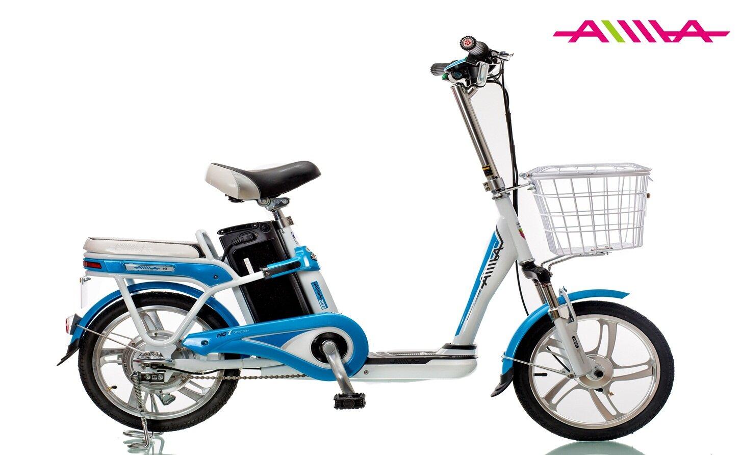 Xe đạp điện Aima 315 thích hợp cho người cao tuổi