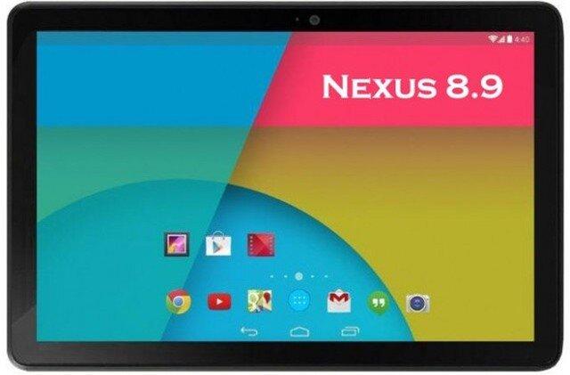 Tablet Nexus 8.9 inch sẽ có giá hợp lý