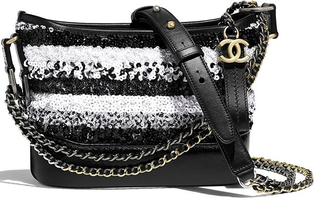 Chanel's Small Sequins Gabrielle Hobo Bag