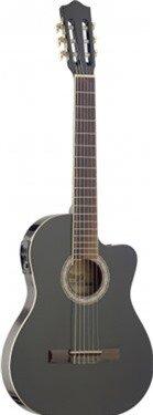 Đàn Guitar Classic Stagg C546TCE - Màu BK/ N/ BLS
