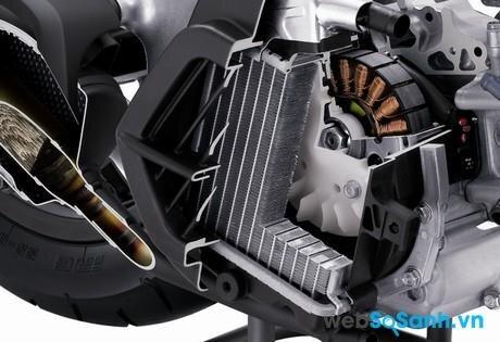 Động cơ trên xe PCX