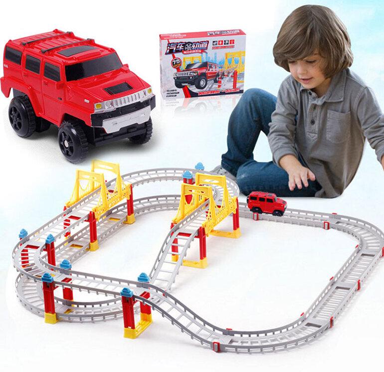 Bộ đồ chơi sẽ tạo nên một hệ thống giao thông đường sắt