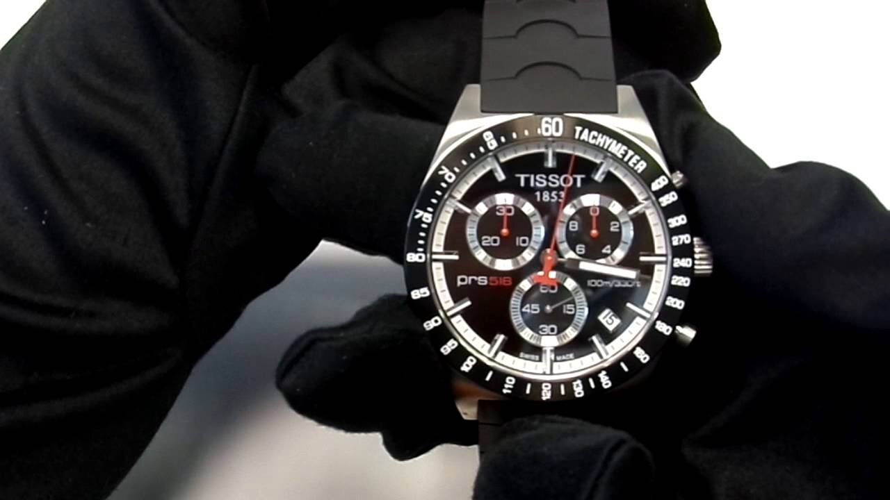 Đồng hồ nam Tissot PRS 516 T044.417.21.031.00 đến từ Thụy Sỹ cho cánh mày râu sự khỏe khoắn, trẻ trung