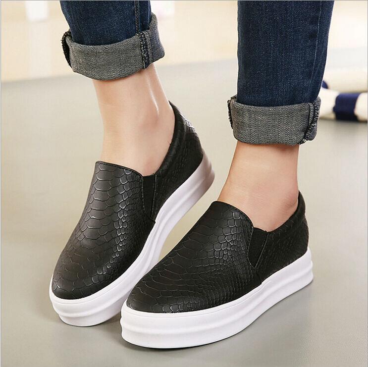Giày slip on cao gót