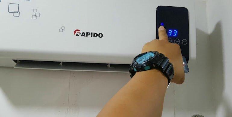 Nguyên lý hoạt động của máy sưởi Rapido