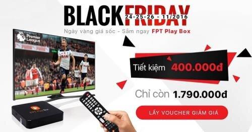 FPT giảm giá Play Box Black Friday 2016