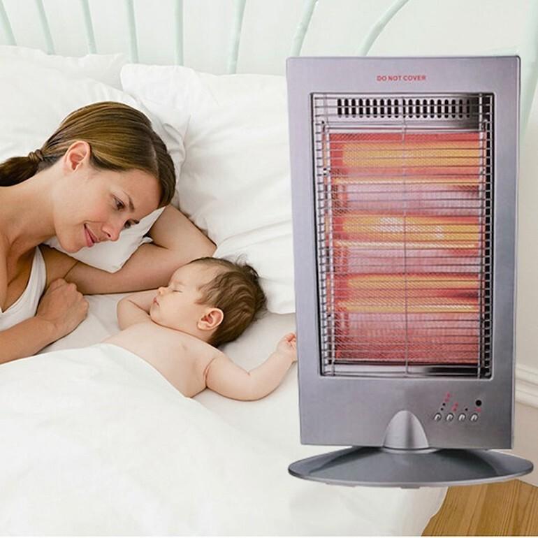 Lựa chọn máy sưởi ấm phòng ngủ di động cho trẻ sơ sinh