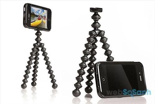 Sử dụng tripod khi chụp hình