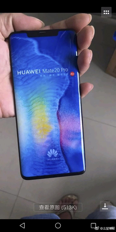 Điện thoại Huawei Mate 20 Pro gây choáng với thiết kế siêu đẹp - Kiểu dáng tai thỏ sành điệu