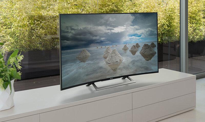 Android Tivi Sony màn hình cong 50 inch KD-50S8000D